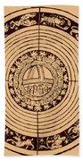 Medieval Zodiac Beach Towel