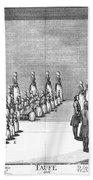 Moravians, 1757 Beach Towel