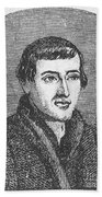 Nicolaus Copernicus, Polish Astronomer Beach Towel