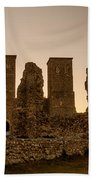 Reculver Towers Beach Towel