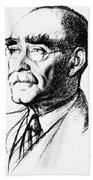 Rudyard Kipling (1865-1936) Beach Towel