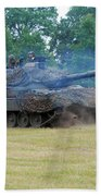 The Leopard 1a5 Main Battle Tank Beach Towel by Luc De Jaeger