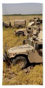 U.s. Army Soldiers Provide Security Beach Towel