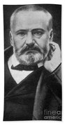 Victor Hugo, French Author Beach Towel by Photo Researchers