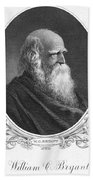 William Cullen Bryant Beach Towel