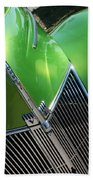 40 Ford - Grill Angle-8659 Beach Towel