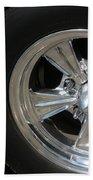 40 Ford-driver Rear Wheel 2-8577 Beach Towel
