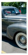 41 Hudson Super Six Side View Beach Towel