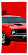 440 Charger Beach Towel