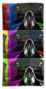 440 Cuda Billboard Pop Beach Towel