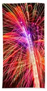 4th Of July - Independence Day Fireworks Beach Towel