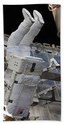 Astronaut Participates Beach Towel