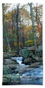 Big Hunting Creek Upstream From Cunningham Falls Beach Towel