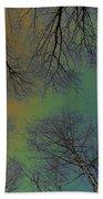 Epping Forest Art Beach Towel