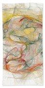 Fractal Beach Towel