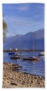 Lake Maggiore Beach Towel