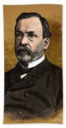 Louis Pasteur, French Chemist Beach Towel by Science Source