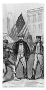 New York: Draft Riots, 1863 Beach Towel