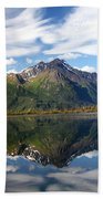 Pioneer Peak Beach Towel