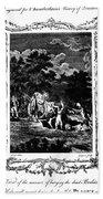 Plague Of London, 1665 Beach Towel