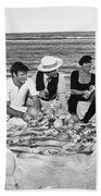 Silent Film Still: Picnic Beach Towel