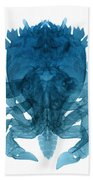 X-ray Of Deep Water Crab Beach Towel