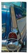 57 Chevy Bel Air 2 Beach Towel