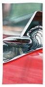 57 Chevy Hood Ornament 8509 Beach Towel
