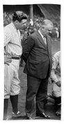 George H. Ruth (1895-1948) Beach Towel