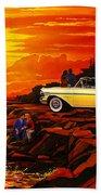 57 Merc Sunset Beach Towel