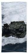 An Amphibious Assault Vehicle Beach Towel