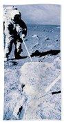 Apollo Mission 17 Beach Towel