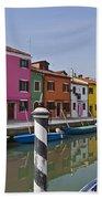 Burano - Venice - Italy Beach Towel