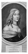 Christina (1626-1689) Beach Towel