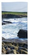 Classiebawn Castle, Mullaghmore, Co Beach Towel