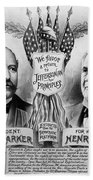 Presidential Campaign, 1904 Beach Towel