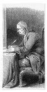 Benjamin Franklin (1706-1790) Beach Towel