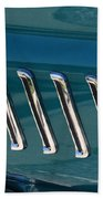 65 Plymouth Satellite Accent-8509 Beach Towel