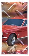 66 Fastback Beach Towel