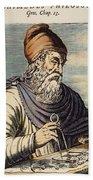 Archimedes (287?-212 B.c.) Beach Towel