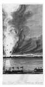 First Opium War, 1841 Beach Towel
