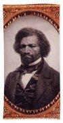 Frederick Douglass African-american Beach Towel