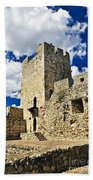 Kalemegdan Fortress In Belgrade Beach Towel