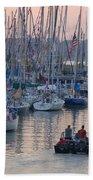 Port Huron To Mackinac Race Beach Towel