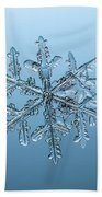 Snowflake Beach Towel