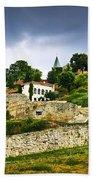 Kalemegdan Fortress In Belgrade Beach Towel by Elena Elisseeva