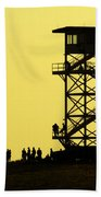 82nd Airborne Division Soldiers Gather Beach Towel