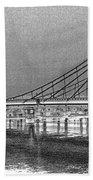 Albert Bridge London Beach Towel