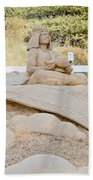 Fairytale Sand Sculpture  Beach Towel
