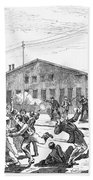 Great Railroad Strike, 1877 Beach Towel